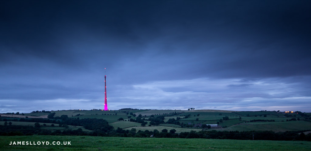 Emley Moor Mast, Huddersfield. July 2014