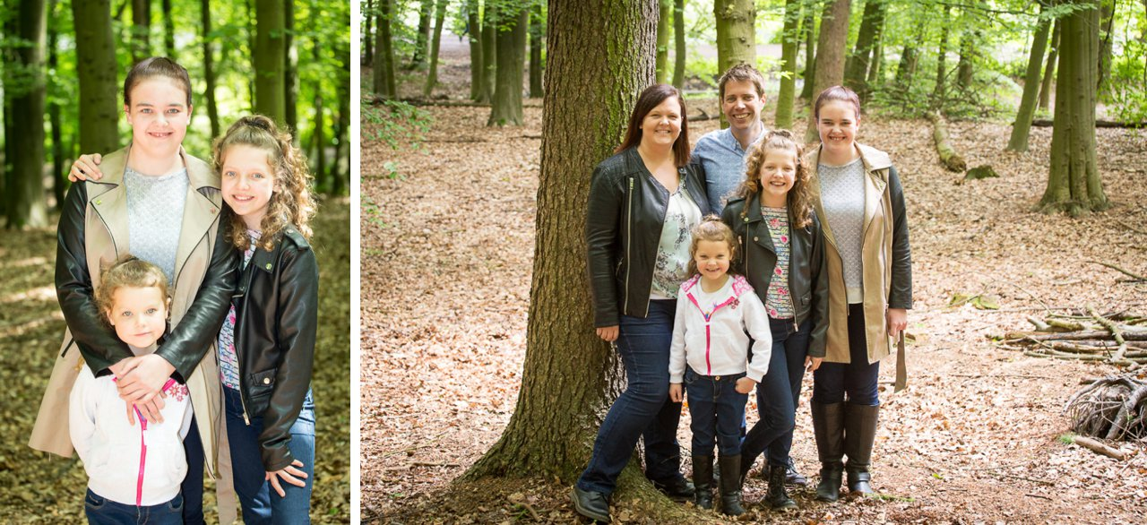 family at newmillerdam