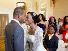 Olajide and Adeyamade wedding, Huddersfield Registry Office