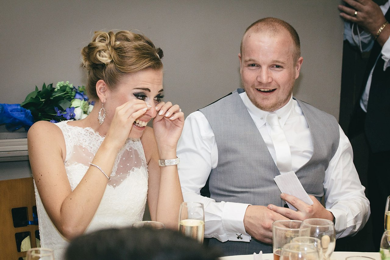 candid wedding speeches