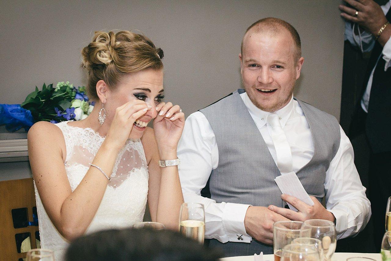 candid wedding speeches