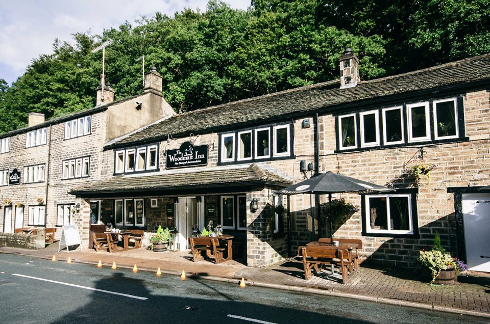 The Woodman Inn at Thunderbridge Huddersfield