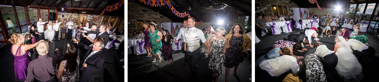 disco at wedding