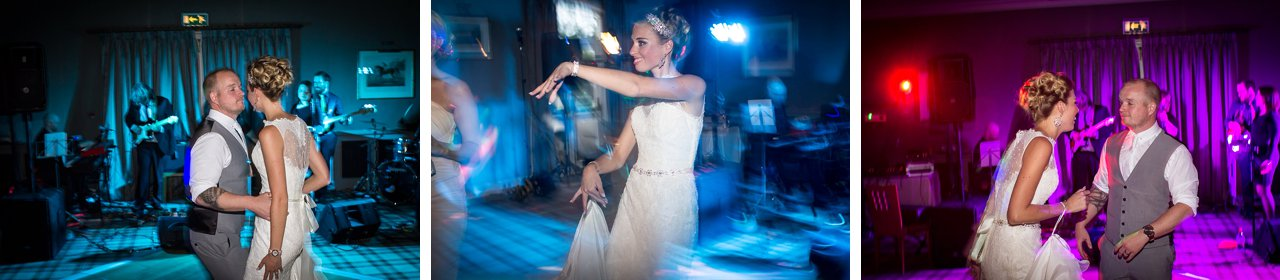 wedding disco coloured lights
