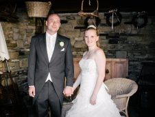 Sharon & JP's Wedding, The Woodman Inn, Thunderbridge, Huddersfield