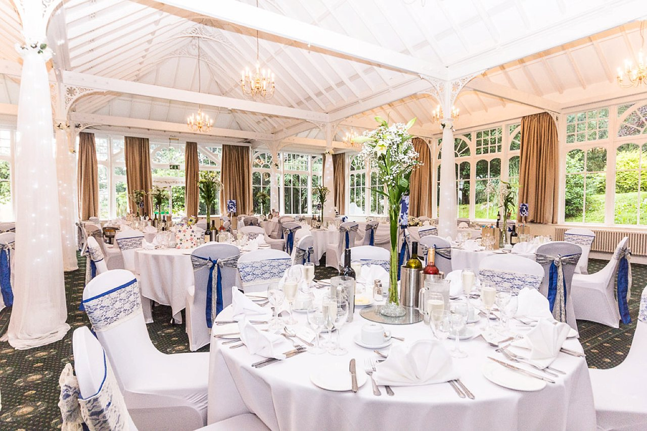 The old swan hotel conservatory