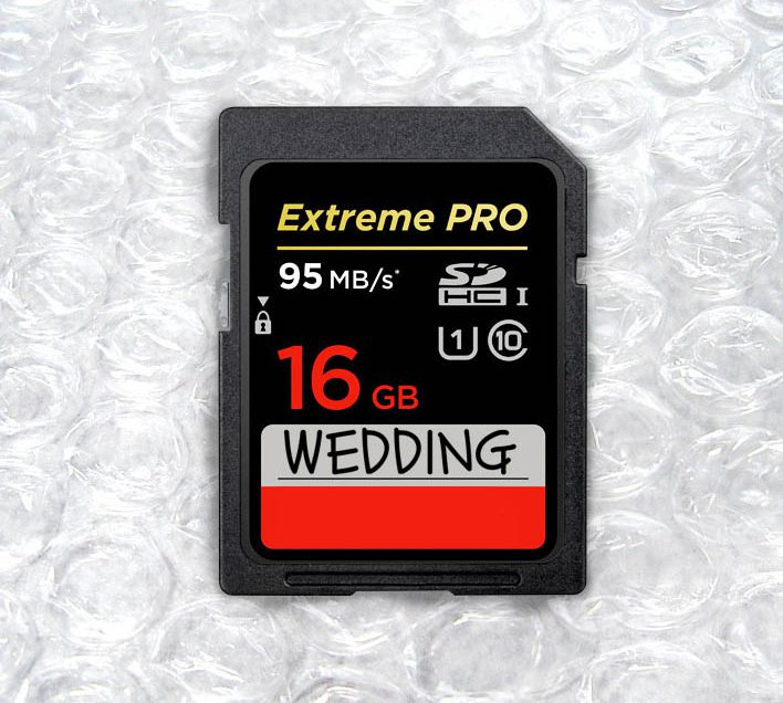 Wedding SD card