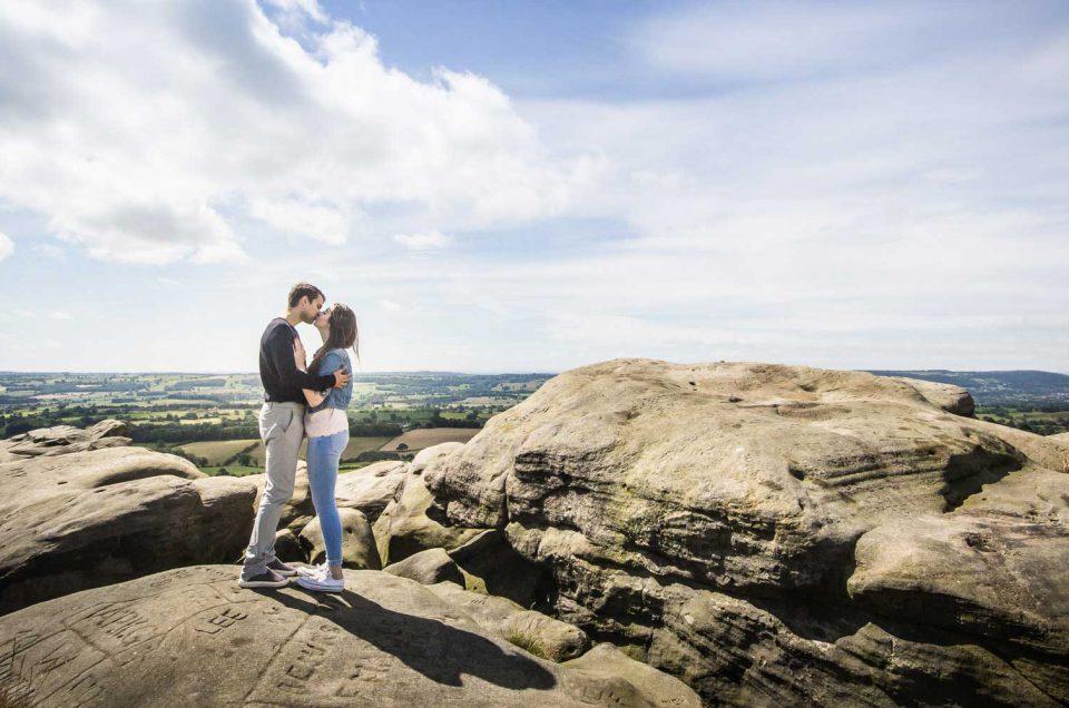 Couple-Alncliffe-Cragg-landscape