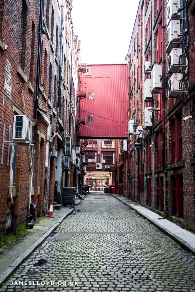 Alley way in Manchester