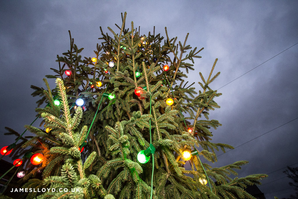 Skelmanthorpe christmas tree