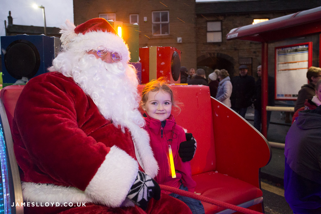 Santa in Skelmanthorpe